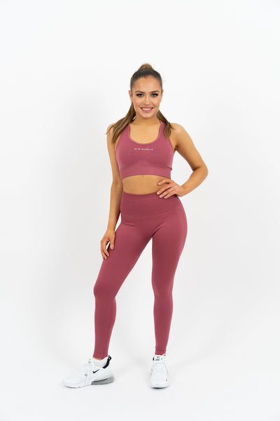Icon Seamless Leggings - Red