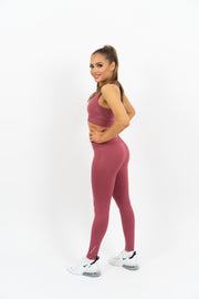 Icon Seamless Top - Red - Gymsupply