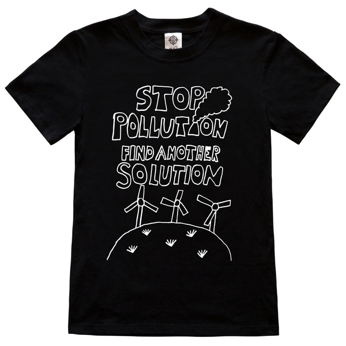 Stop Pollution Find Another Solution - Adult
