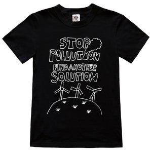 Stop Pollution Find Another Solution - Kids