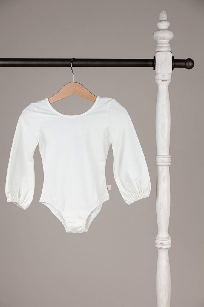 Ivory leotard by Love, Omi Jo