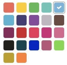 Color available