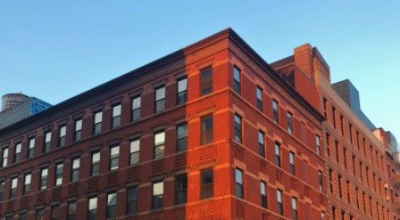 Widescreen picture of a building