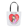 Hugging Mom Heart Tote Bag