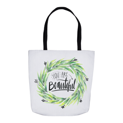 You're Beautiful Tote Bag