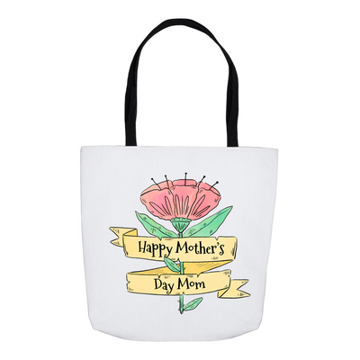 Happy Mother's Day Flower Tote Bag