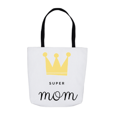 Super Mom Tote Bag - My Social Book The Photo Book