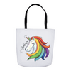 Fabulous Unicorn Tote Bag - My Social Book The Photo Book
