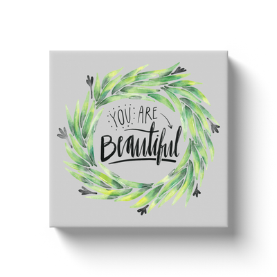 You're Beautiful Canvas Wrap - My Social Book The Photo Book