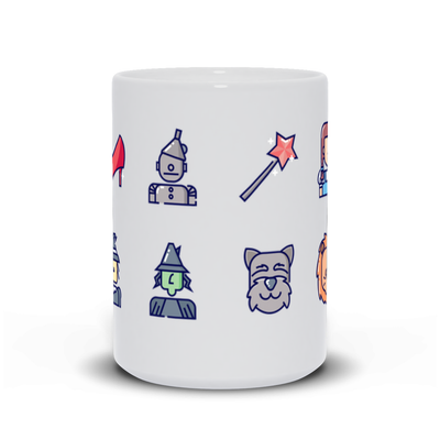 Wizard of Oz Inspired Mug - My Social Book The Photo Book