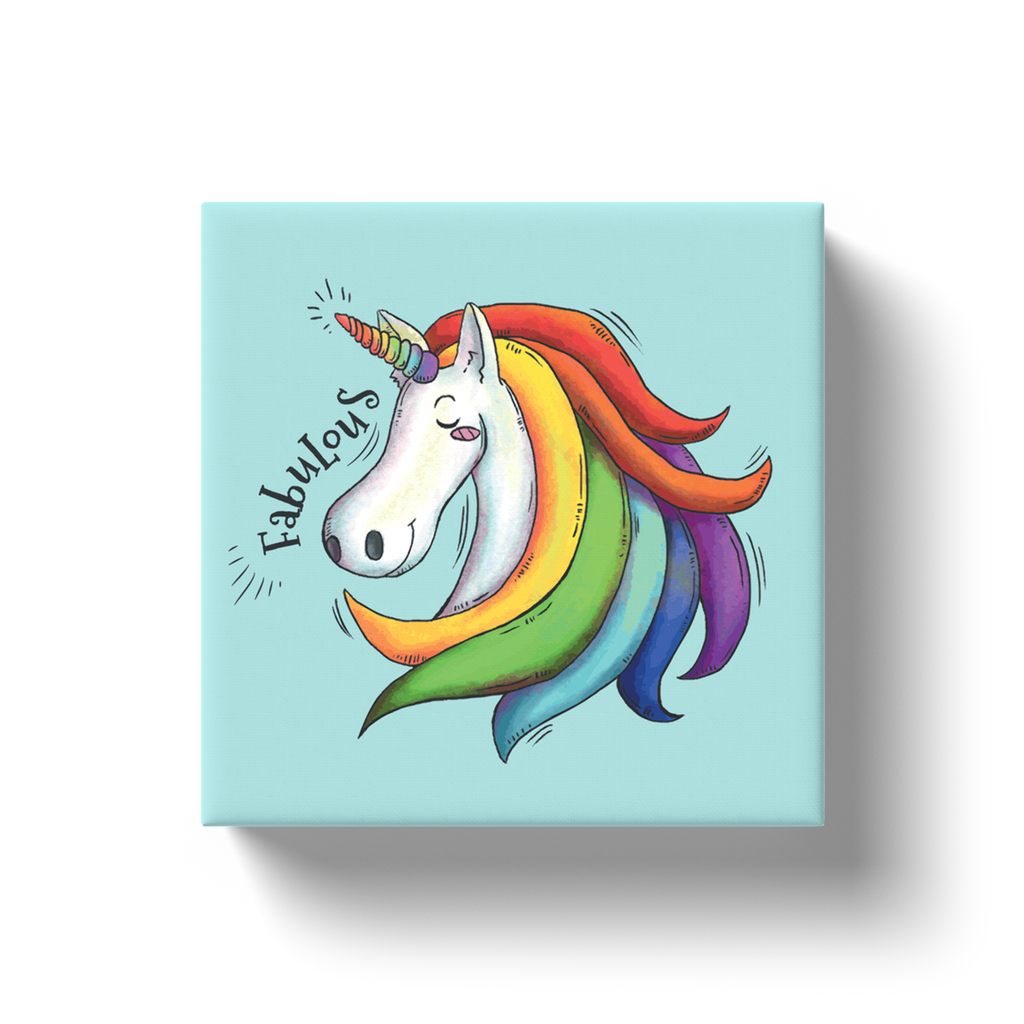 Fabulous Unicorn Canvas Wraps - My Social Book The Photo Book