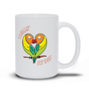Together Forever Parrot Mugs - My Social Book The Photo Book