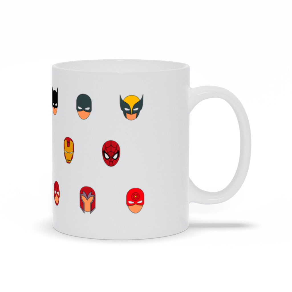 Super Heroes Mug - My Social Book The Photo Book