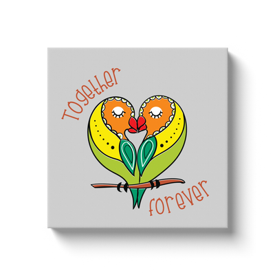 Together Forever Canvas Wrap - My Social Book The Photo Book