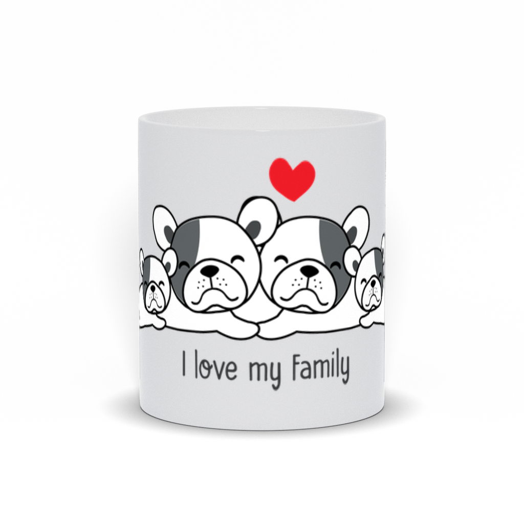 I Love My Family Mug - My Social Book The Photo Book