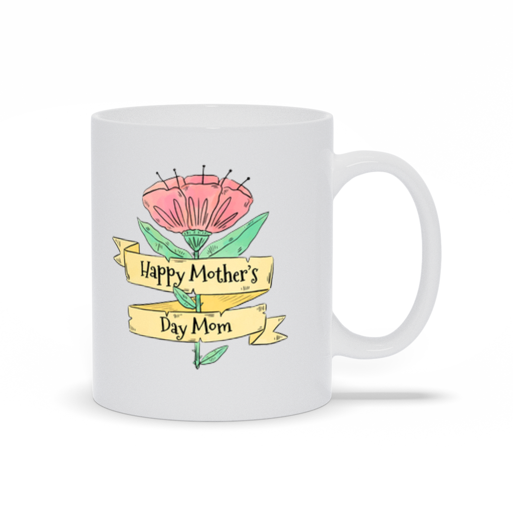 Mother's Day Flower Mug