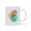 Best Mom Ever Circles Mug - My Social Book The Photo Book