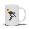 Beautiful Parrot Mug