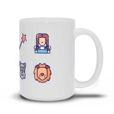 Wizard of Oz Inspired Mug