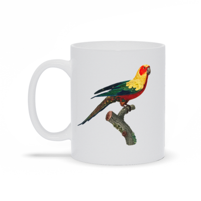 Beautiful Parrot Mug - My Social Book The Photo Book