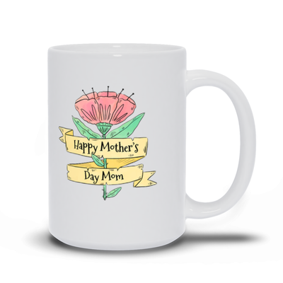 Mother's Day Flower Mug - My Social Book The Photo Book