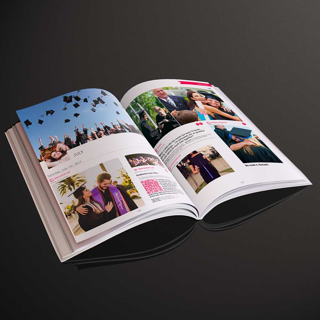 50 Pages Best-Of Photo Book - My Social Book