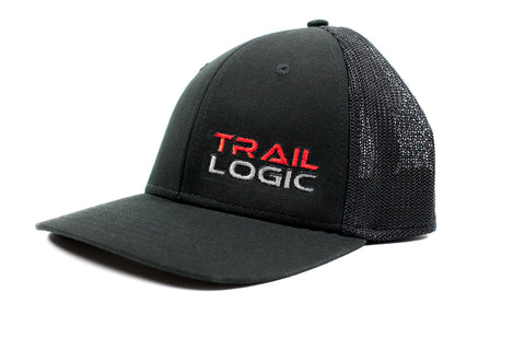 Black Trail Logic Hat