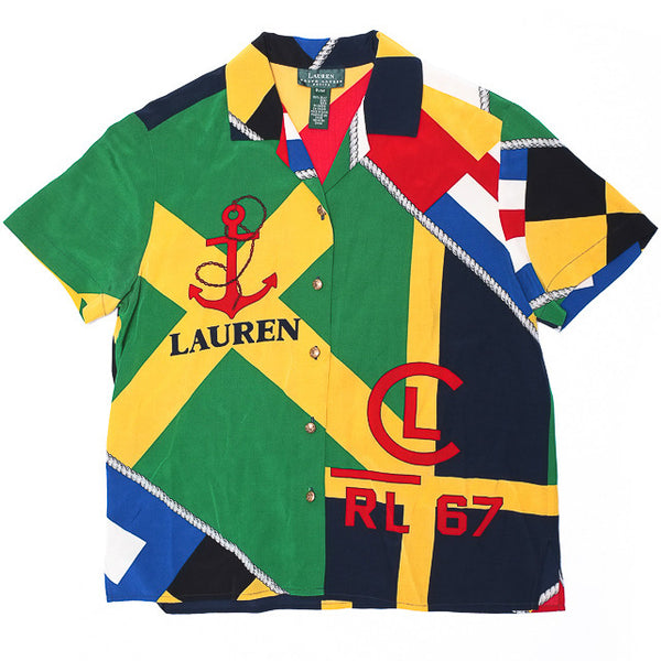 Lauren by Ralph Lauren Silk Shirt