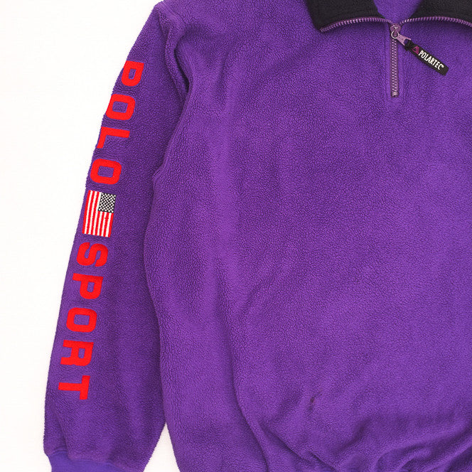 Polo Sport Polartec Purple Fleece
