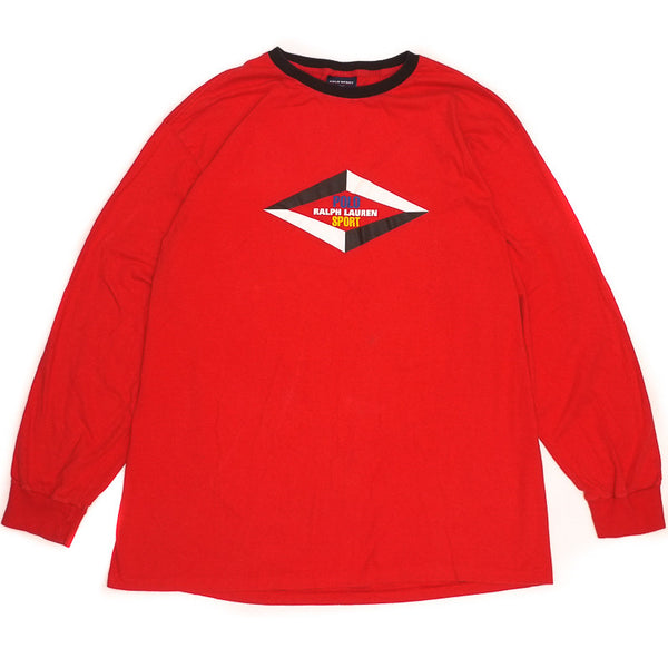 Polo Sport Longsleeve Diamond Tee