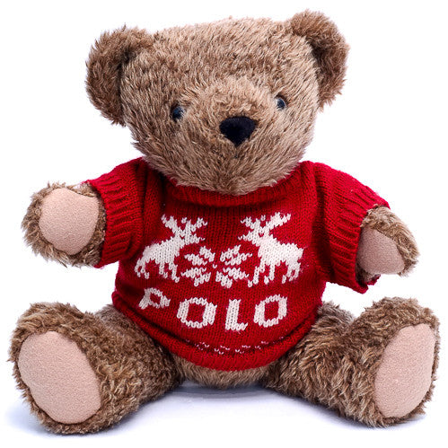 Polo Bear Plush Toy