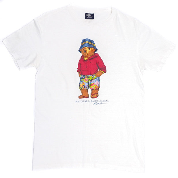 Ralph Lauren Bucket Bear Tee