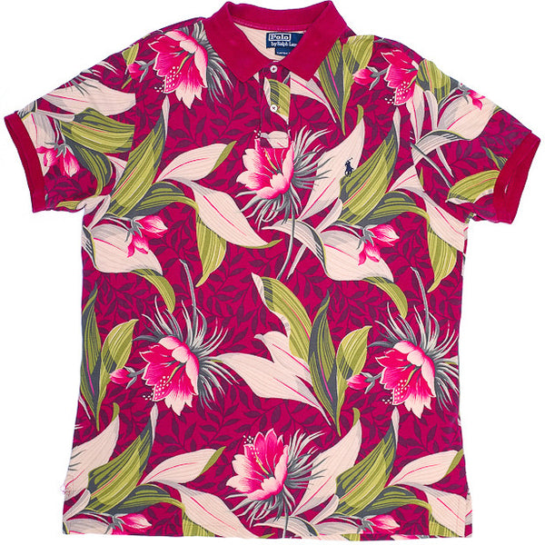 Ralph Lauren Floral Polo Shirt