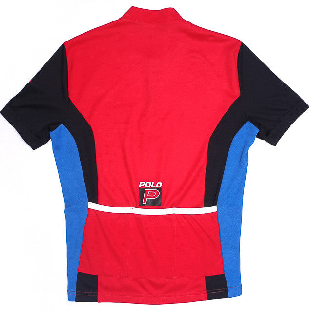Polo Sport Red Cycling Jersey