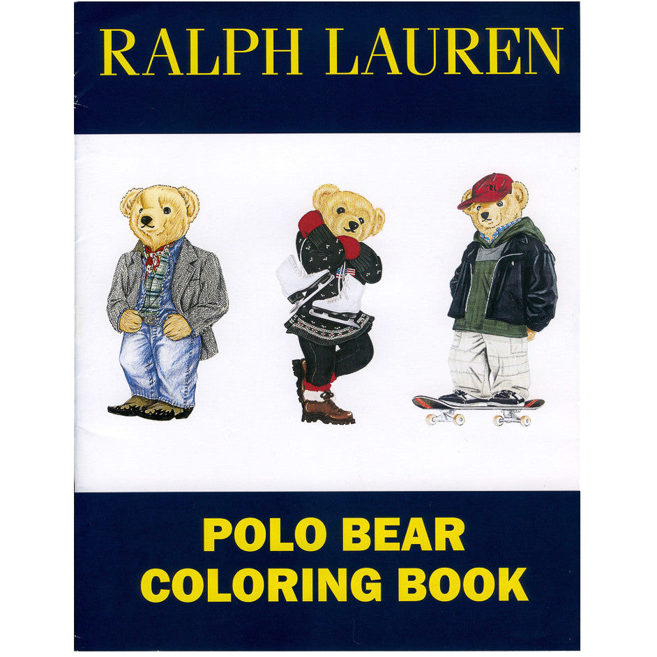 Polo Bear Colouring Book