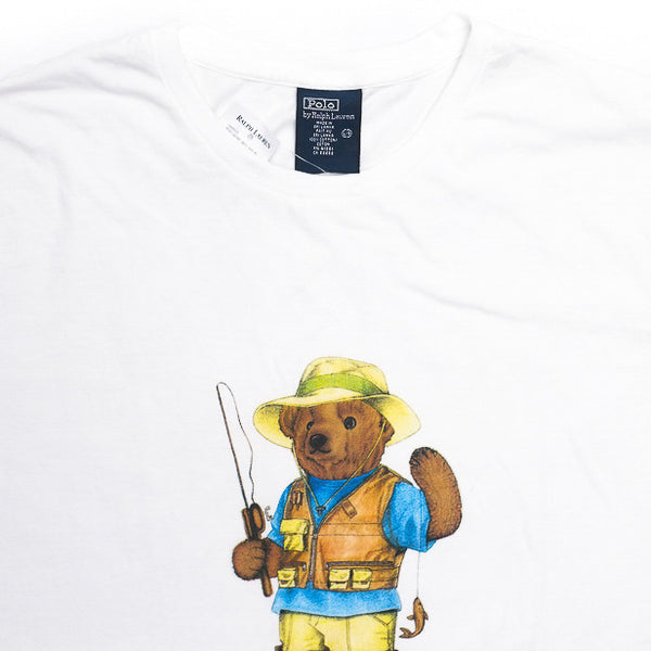 Ralph Lauren Polo Bear Fishing Tee