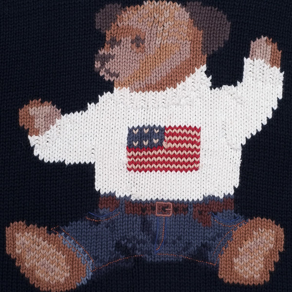 Ralph Lauren Sit Down Bear Hand Knit