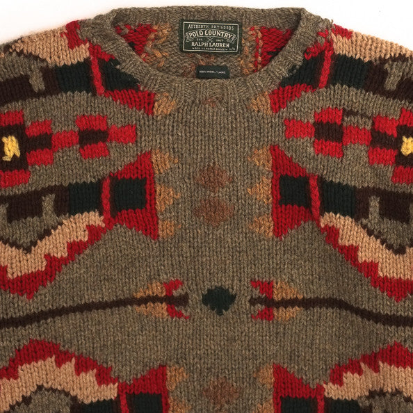 Ralph Lauren Country Beacons Hand Knit