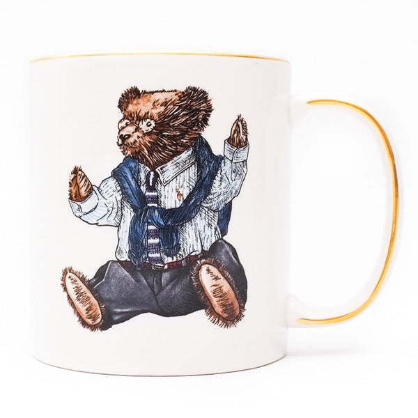 Ralph Lauren Wedgwood Polo Bear Mug