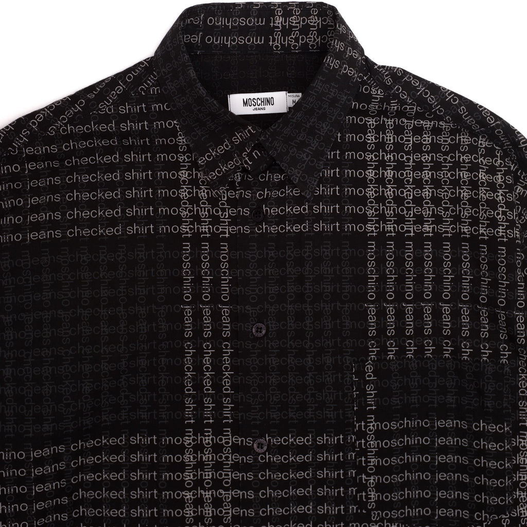 Moschino Checked Shirt