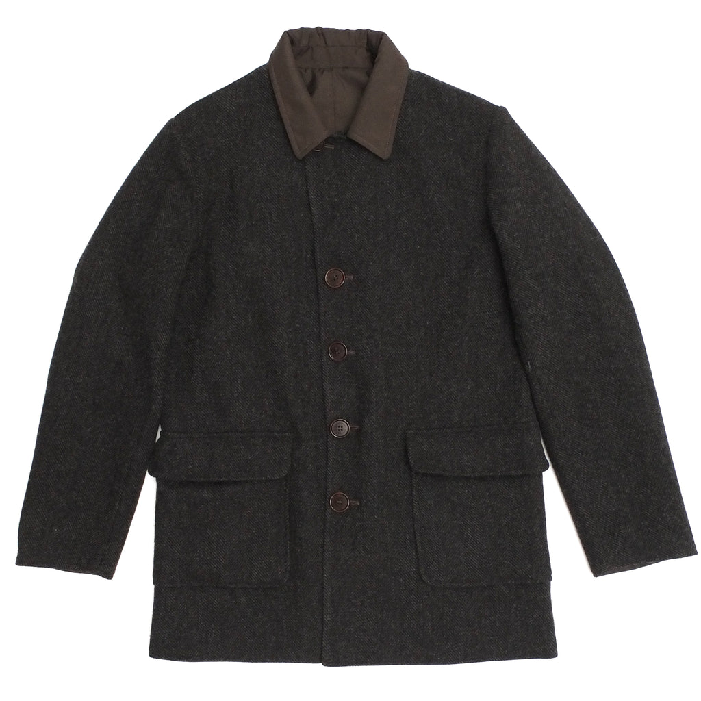 C.P. Company Reversible Wool Formula Steel Mac