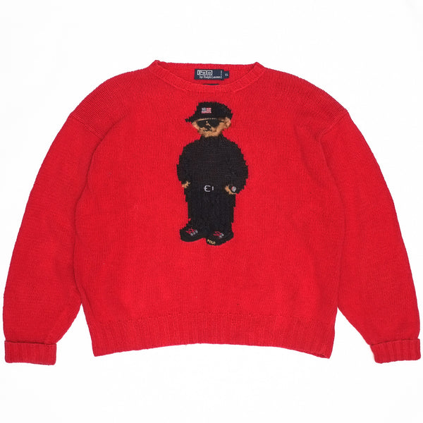 Ralph Lauren Gully Bear Hand Knit