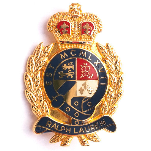 Ralph Lauren Crest Badge