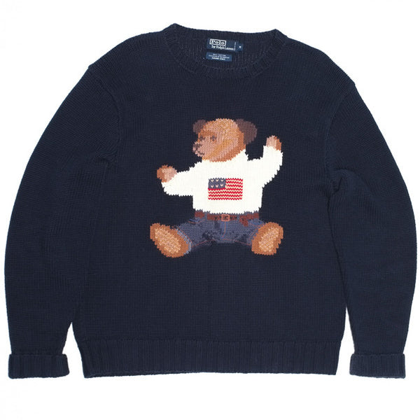 Ralph Lauren Polo Bear Hand Knit