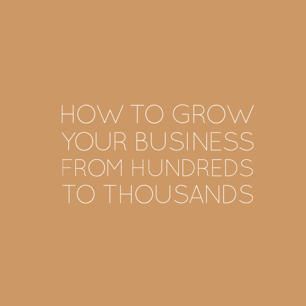 3 Ways to Grow Your Tiny Business