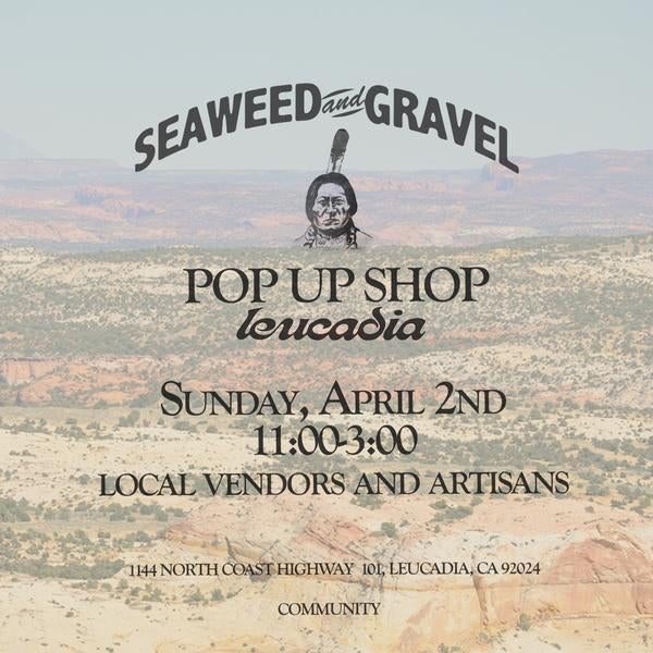 Seaweed & Gravel Pop-Up