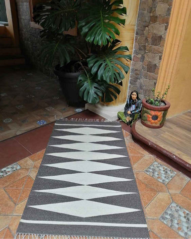 Black Diamond Rug