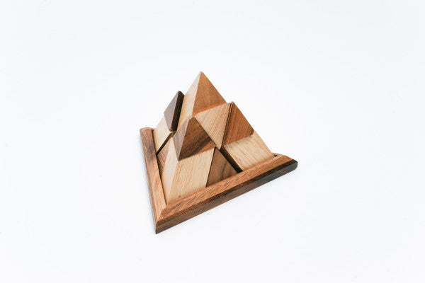 Pyramid 14 Pieces - Wooden Puzzle