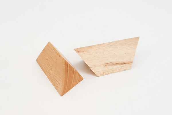 2 Piece Pyramid - Wooden Puzzle