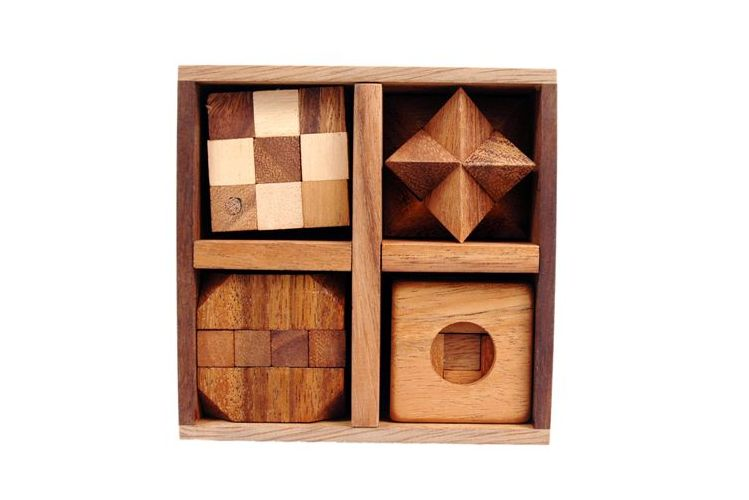 5 Puzzles in one tricky box